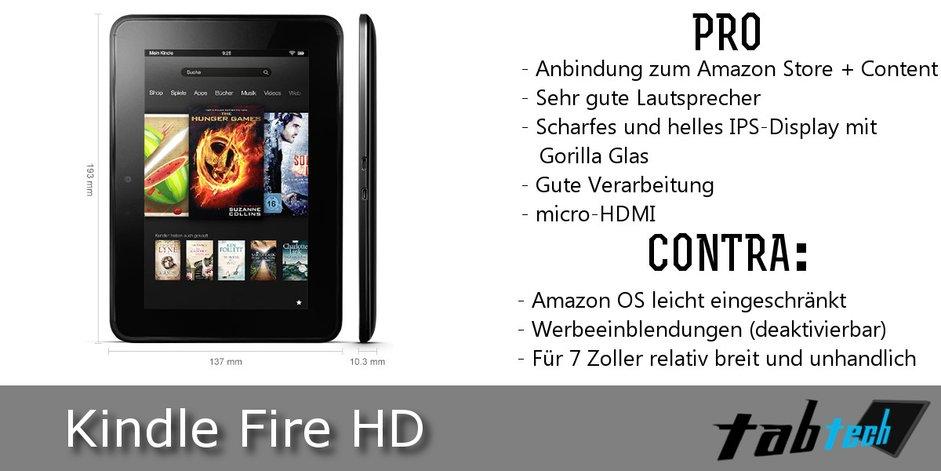Kindle Fire HD Vergleich