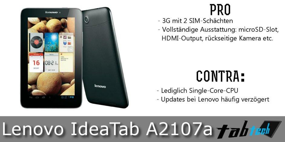 Lenovo IdeaPad S2107A Vergleich