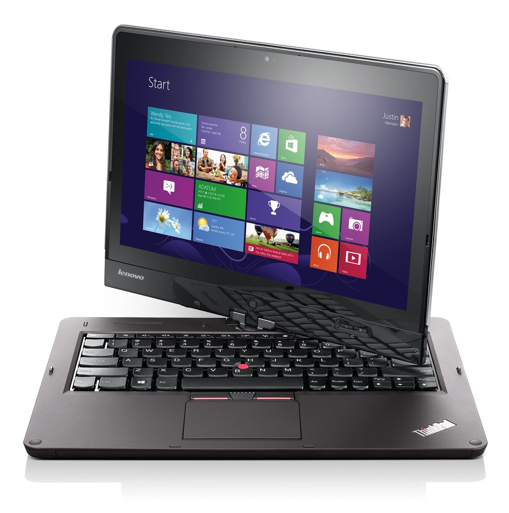 Lenovo ThinkPad Twist: Windows 8 Convertible Tablet mit drehbarem Display überzeugt