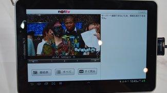 Hands-On-Videos von der CEATEC 2012: Samsung Galaxy Tab 7.7 Plus &amp&#x3B; NEC Media Tab UL