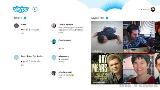 Skype für Windows 8 geht am 26. Oktober an den Start
