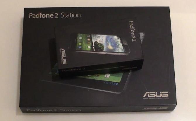 Asus Padfone 2 Unboxing und ausführliches Hands-On Video