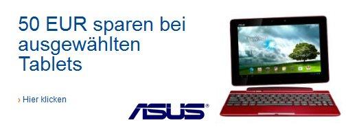 Deal: Asus Transformer Tablets 50 Euro günstiger bei Amazon
