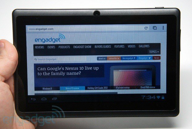 Datawind Ubislate 7Ci: Das 40 Dollar Tablet Aakash 2 aus Indien im Hands-On-Video