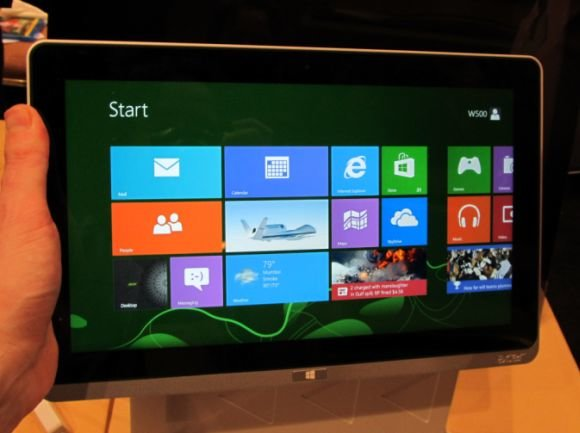 Acer Iconia Tab W510 und W700: Hands-On-Videos