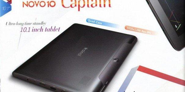 Ainol Novo 10 Captain: Neues Android 4.1 Tablet für ganze 216 US-Dollar