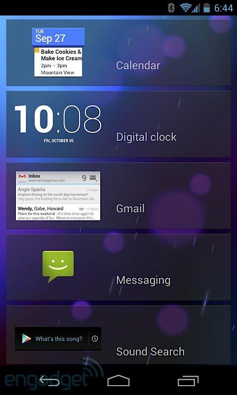 Android 4.2 auf dem Google Nexus 7 im ersten Video