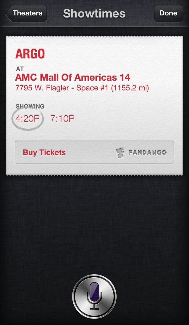 Apple iOS 6.1 lässt Kinotickets mit dem iPad kaufen