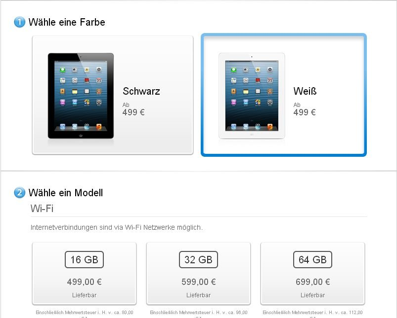 Apple iPad 4: Der neue Ladenhüter?