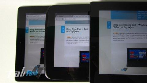 Apple iPad 4 vs Nexus 10 vs Surface 6-imp