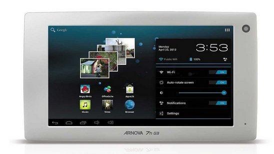Archos Arnova 7H G3 im deutschen Handel verfügbar