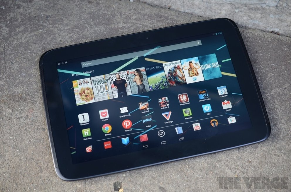 Test: Google Nexus 10 überzeugt in ersten Reviews