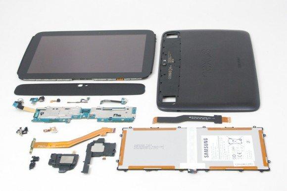 Google Nexus 10 einfacher zu reparieren als das iPad von Apple