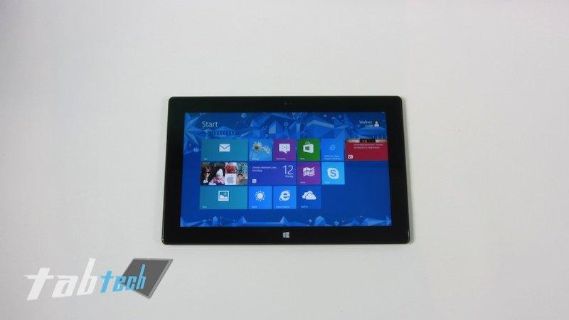Microsoft Surface RT Tablet trifft nach und nach im Handel ein