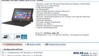 Microsoft Surface Pro kann bereits über Online Shop vorbestellt werden