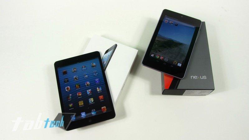 Apple iPad mini vs. Google Nexus 7 - Der Vergleich