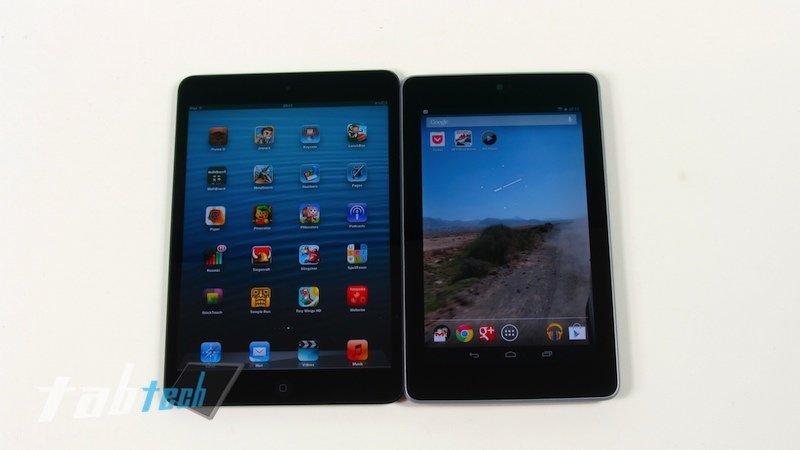Apple iPad mini kann Google Nexus 7 auch in Benchmarks nicht abhängen
