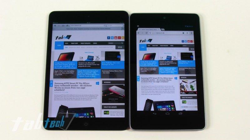 Google Nexus 7 ist beliebteres Weihnachtsgeschenk als das Apple iPad