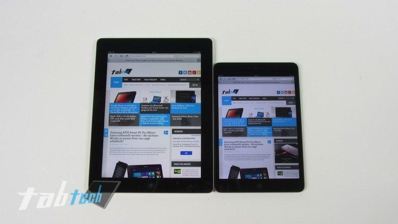 Apple iPad 4 vs Apple iPad mini – Unser ausführlicher Vergleich im Video