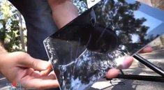 iPad mini, Nexus 7 und das neue iPad im Fall- und Tauchtest