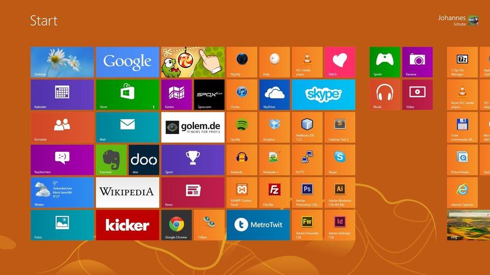 Never change a running system - oder im Fall von Windows 8 vielleicht doch?