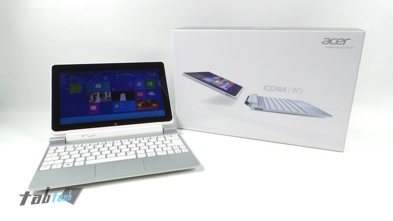 Acer Iconia Tab W510 Test - Preiswertes Windows 8 Tablet mit Tastatur Dock