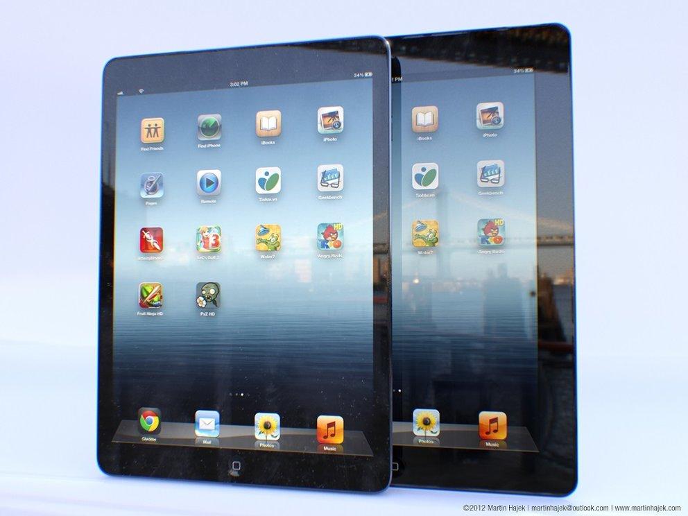 Apple iPad 5 vollkommen frei von Innovationen? Wesentlich dünner und leichter als Keyfacts