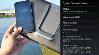 Asus PadFone 2 erhält ab sofort Android 4.1.1 Jelly Bean – Verzögerter Start in Deutschland