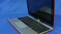 Windows 8: Convertible Tablet Gigabyte U2142 bei der FCC