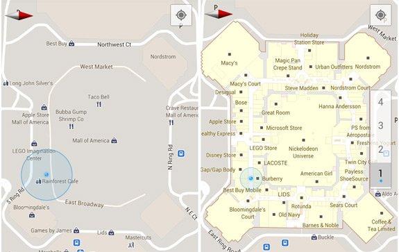 Google Indoor Maps nun auch in Deutschland