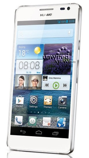 Huawei Ascend D2 mit 5 Zoll 1080p Display auf erstem Pressefoto
