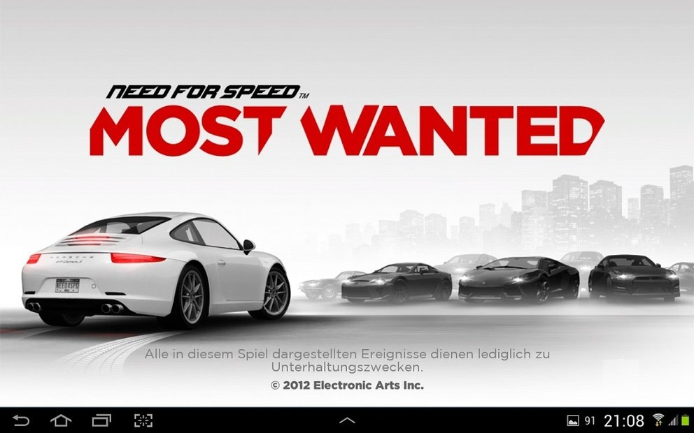 Need for Speed: Most Wanted für Android im Spiele Test