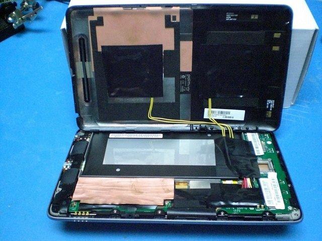 Nexus 7 Umbau erlaubt induktives Laden per Palm TouchStone