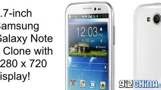 Owen V9: Chinesischer Galaxy Note 2 Klon mit 5,7 Zoll Display