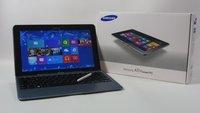 Samsung ATIV Smart PC Test - Windows 8 Plastik-Transformer