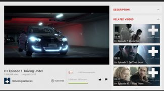 YouTube nun auch für große Android-Tablets optimiert
