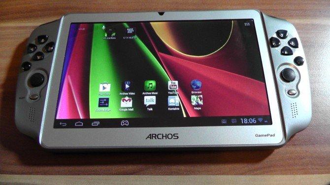 Archos GamePad: Erstes deutsches Unboxing und Kurztest-Video