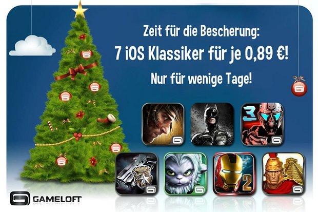 iOS Spiele Schnäppchen von Gameloft und EA