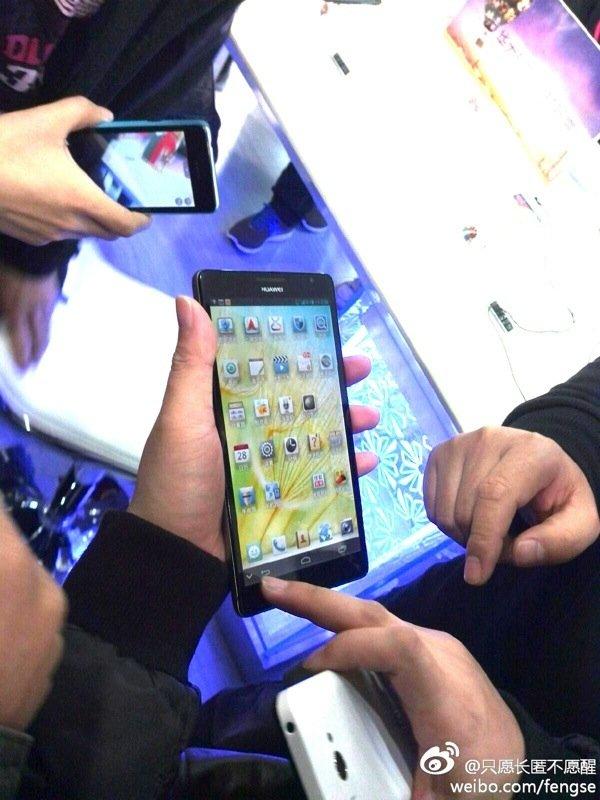 Huawei Ascend Mate mit 6.1 Zoll Display zeigt sich im ersten Video
