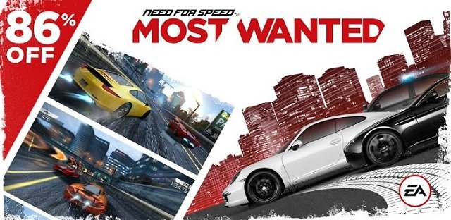 Need for Speed Most Wanted im Play Store für nur 89 Cent