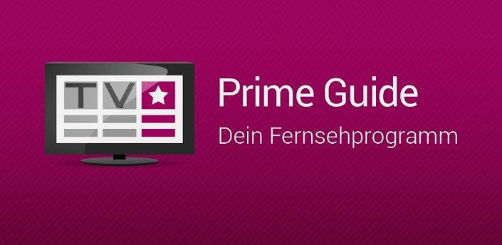 Prime Guide: Das Fernsehprogramm auf dem Android-Tablet