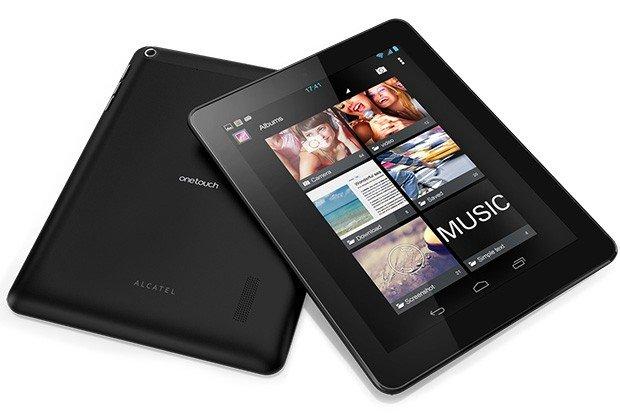 Hands-On-Videos von der CES 2013: Alcatel One Touch Tab 7 HD und One Touch Tab 8 HD