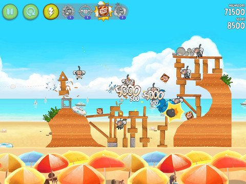 Angry Birds Rio HD für iOS und Sony PlayStation Mobile-Spiele kostenlos