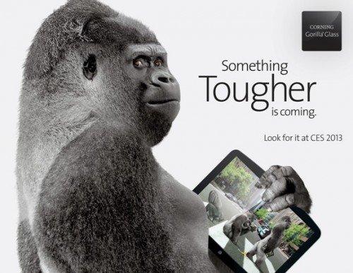 Corning präsentiert Gorilla Glass 3 auf der CES 2013