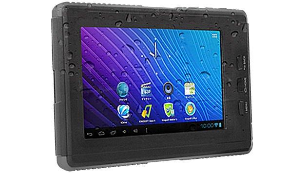 Geanee MK-AR2: 7 Zoll Android-Tablet taugt zum Duschen und Baden