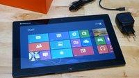 Lenovo IdeaTab Lynx: Das Windows 8 Tablet zeigt sich im Unboxing-Video
