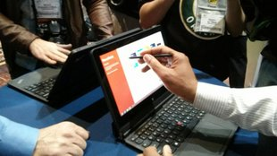 Lenovo ThinkPad Helix: Windows 8 Convertible Tablet mit Full HD Display und Intel Core Prozessor- Update: Hands-On Videos