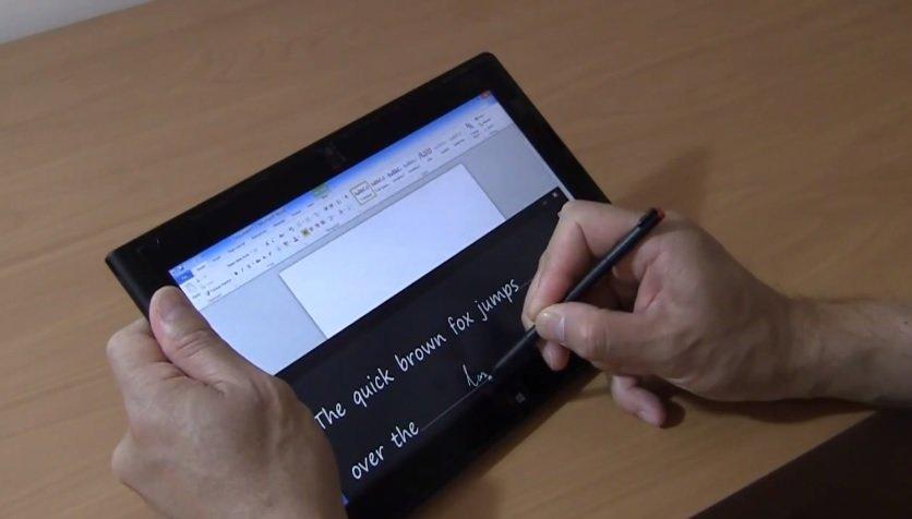 Lenovo ThinkPad Tablet 2 mit Windows 8, Digitizer und Tastatur im englischen Review Video