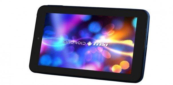 MSI Enjoy 71: 7 Zoll Android-Tablet für 130 Euro durchaus konkurrenzfähig