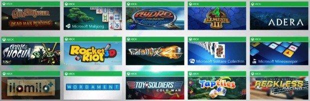 Microsoft Play bringt Xbox Games auf Windows 8 und Windows RT Tablets